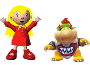 Mary and Bowser jr
