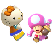 Mimmy and Toadette