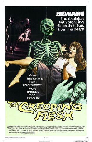 File:1973 - The Creeping Flesh Movie Poster.jpg