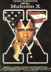 1972 - Malcolm X Movie Poster