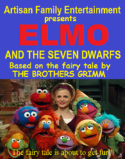 Elmo and the Seven Dwarfs 1997 VHS