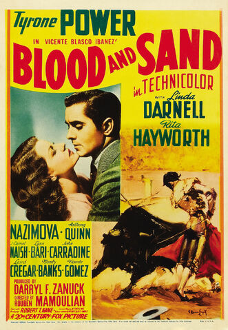 File:1941 - Blood and Sand Movie Poster.jpg