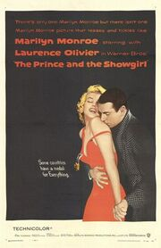 1957 - The Prince and the Showgirl Movie Poster