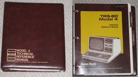 26-2110 Model 4 Technical Reference Manual in binder