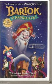 Bartok the Magnificent 1999 VHS