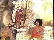 Mowgli and flunkey monkey