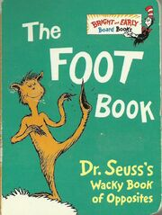 The Foot Book 1995 VHS