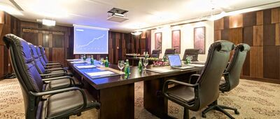 Larsa meeting room at Merwebhotel Central Doha