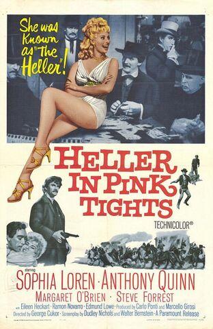 File:1960 - Heller in Pink Tights Movie Poster.jpg