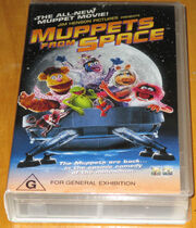 Muppets From Space Australian VHS