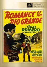 1941 - Romance of the Rio Grande DVD Cover (2013 Fox Studio Classics)