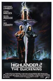 1991 - Highlander 2 - The Quickening Movie Poster