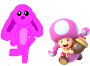 Marie and Toadette