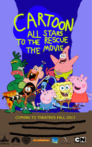 Cartoon All Stars To The Rescue The Movie Poster (2013)