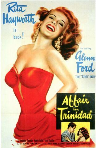 File:1952 - Affair in Trinidad Movie Poster.jpg