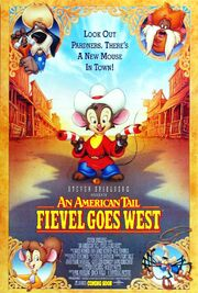 An american tail fievel goes west poster