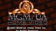 MGM UA Home Video Rainbow Copyright Screen 2001