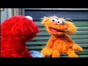 Zoe and Elmo from Elmo in Grouchland Trailer
