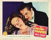 1943 - The Return of the Vampire Movie Poster