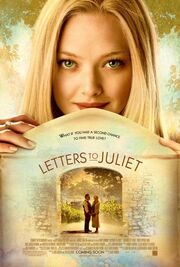 2010 - Letters to Juliet Movie Poster -1