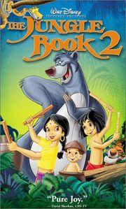 The jungle book 2 vhs