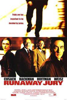 2003 - Runaway Jury Movie Poster