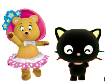 File:Tessie and Chococat.PNG