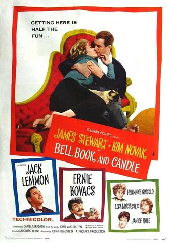 File:1958 - Bell, Book and Candle Movie Poster.jpeg