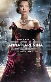2012 - Anna Karenina Movie Poster