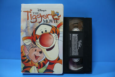 The tigger movie on vhs