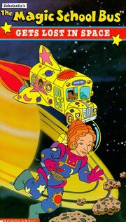 Gets Lost In Space VHS