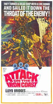1968 - Attack on the Iron Coast Movie Poster