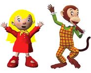 Mary and Martha monkey