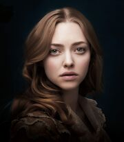 Amanda Seyfried as Cosette from Les Miserables 2012