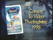 The Rescuers 1998 VHS Preview