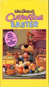 Claymation easter vhs
