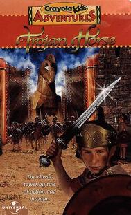 Crayola kids adventures the trojan horse universal vhs