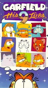Garfield his 9 lives vhs