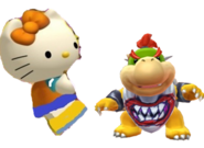 Mimmy and Bowser jr