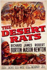 1953 - The Desert Rats Movie Poster