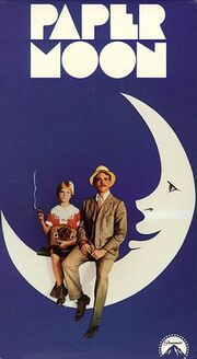Paper Moon 1993 VHS (Front Cover)