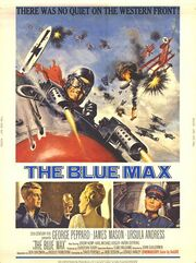 1966 - The Blue Max Movie Poster
