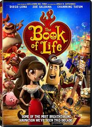 The Book Of Life 2015 DVD