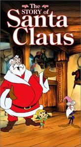 The story of santa claus buena vista home video vhs