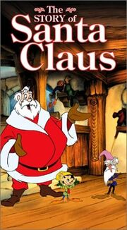 The story of santa claus buena vista home video vhs