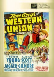 1941 - Western Union DVD Cover (2013 Fox Cinema Archives)
