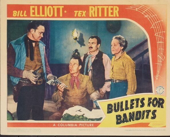 File:1942 - Bullets for Bandits Movie Poster.jpg