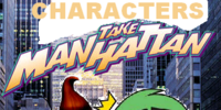 The Characters Take Manhattan