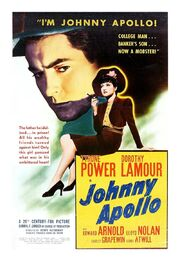 1940 - Johnny Apollo Movie Poster