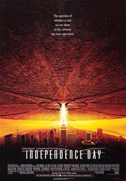 1996 - Independence Day Movie Poster
